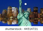 Manhattan Skylines In A Perfec...