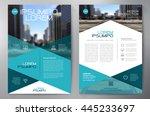 Business brochure flyer design a4 template. Vector illustration | Shutterstock vector #445233697