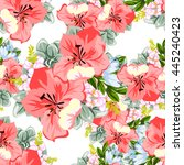 abstract elegance seamless... | Shutterstock .eps vector #445240423