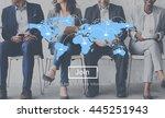 marketing business worldwide... | Shutterstock . vector #445251943