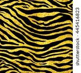 Golden Foil Tiger Or Zebra...