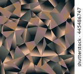 polygon background. abstract... | Shutterstock .eps vector #445486747