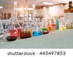 chemical laboratory background. ...