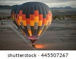Colorful Hot Air Ballon Ready...