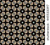 abstract seamless pattern.... | Shutterstock .eps vector #445533397