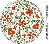 Vector Illustration Of Circle...