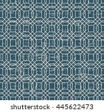 seamless worn out vintage... | Shutterstock .eps vector #445622473
