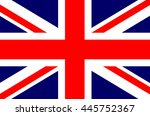 england uk british flag... | Shutterstock .eps vector #445752367
