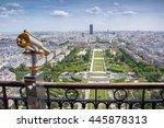 paris from the eiffel tower | Shutterstock . vector #445878313