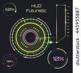 futuristic interface  hud ...