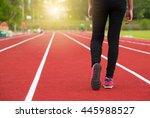 Walking  Jogging  Feet And Leg...