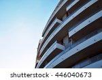 modern apartment block | Shutterstock . vector #446040673