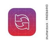 refresh line icon
