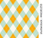 seamless argyle pattern. | Shutterstock .eps vector #446181253