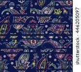 Seamless Paisley Pattern On...