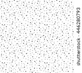 vector pattern with dotted... | Shutterstock .eps vector #446280793