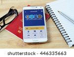 kota kinabalu  malaysia   july...   Shutterstock . vector #446335663