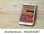 kota kinabalu  malaysia   july...   Shutterstock . vector #446353387