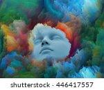 lucid dreaming series.... | Shutterstock . vector #446417557