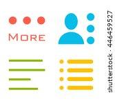 hamburger menu icons set....