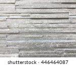 stone brick wall   background... | Shutterstock . vector #446464087