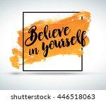 modern inspirational creative... | Shutterstock .eps vector #446518063