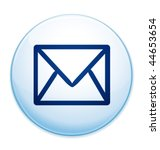 Email message icon. Vector illustration.