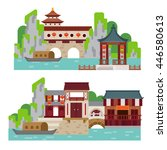 china landscape | Shutterstock .eps vector #446580613