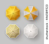 Vector Set Of White Yellow...