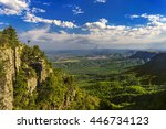 republic of south africa ... | Shutterstock . vector #446734123