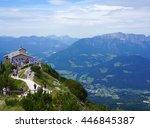 berchtesgaden germany august 15 ... | Shutterstock . vector #446845387