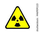 Sign Toxic. Warning Radioactiv...