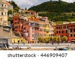 vernazza  italy   may 5  2016 ... | Shutterstock . vector #446909407
