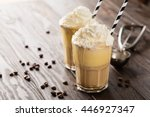 Iced Coffee With Whipped Milk...