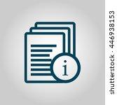 vector illustration of files... | Shutterstock .eps vector #446938153