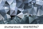 abstract geometrical background ... | Shutterstock .eps vector #446985967