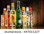 poznan  poland   june 23  2016... | Shutterstock . vector #447011227