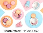 creative food still life with... | Shutterstock . vector #447011557