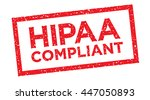 hipaa compliance icon graphic | Shutterstock .eps vector #447050893