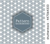 pattern background with a... | Shutterstock .eps vector #447064333