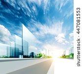 Modern City Project. 3d...