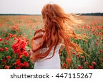 Beautiful Young Red Haired...