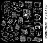 kitchen utensils and appliance