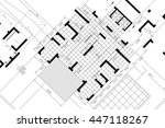 architectural background ... | Shutterstock . vector #447118267