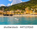 monterosso  italy   may 5  2016 ... | Shutterstock . vector #447119263