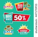vector labels set for... | Shutterstock .eps vector #447170953