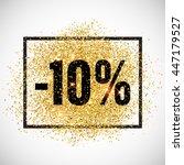 10 Percent Off Discount...