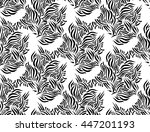 seamless vector pattern with... | Shutterstock .eps vector #447201193