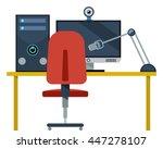 desk  pc  monitor  computer ...
