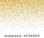 Vector Gold Glitter Confetti...